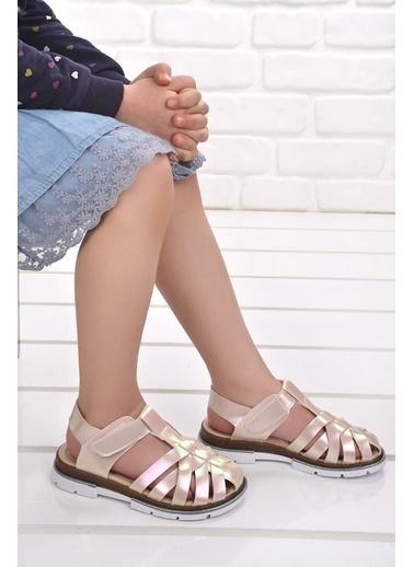 Şirin Bebe Kiko şb 2430-39 Orto pedik Kız Çocuk Sandalet Terlik Beyaz